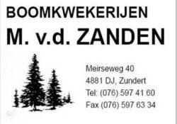 M. vd Zanden